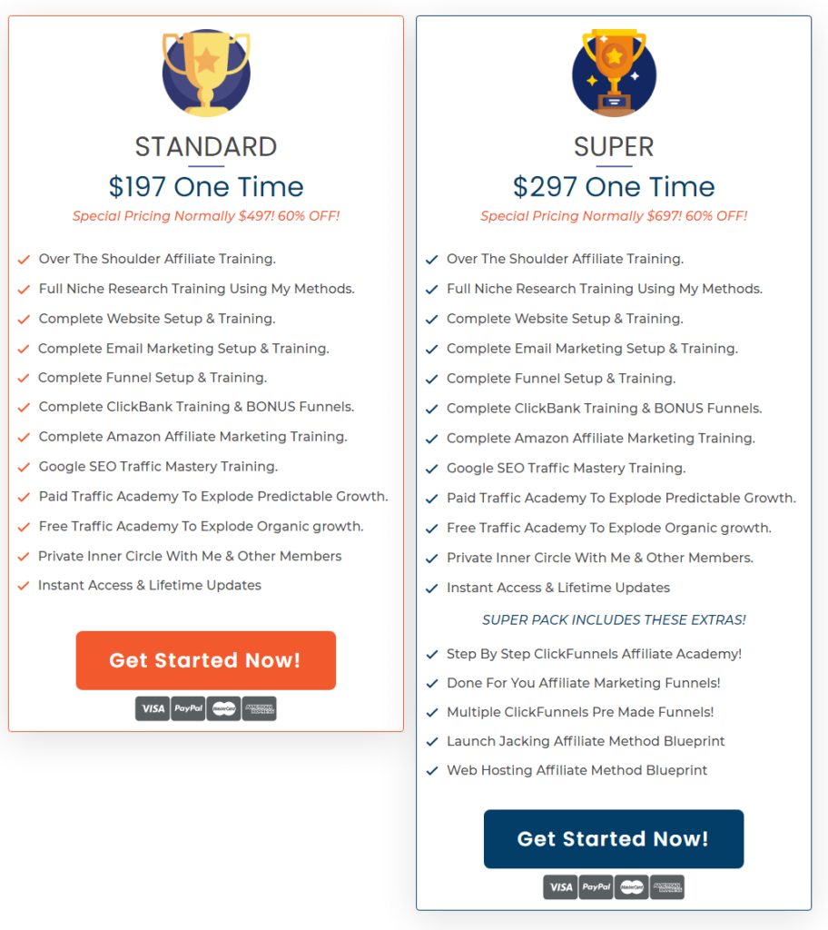 savage Affiliates 2.0 review: pricing